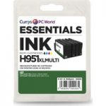 ESSENTIALS HP950 & HP951 4-colour Ink Cartridges – Multipack