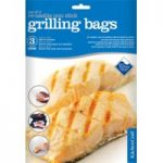 KITCHEN CRAFT Non-Stick Grilling Bags – Pack of Three