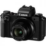 CANON PowerShot G5 X High Performance Compact Camera – Black, Black