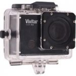 VIVITAR DVR944 Action Camcorder – Black, Black