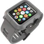 LUNATIK EPIK-004 Apple Watch Polycarbonate Case & Silicone Strap – Grey, Grey