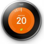 NEST Learning Thermostat – 3rd Generation, Silver