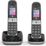 BT 8610 Cordless Phone with Answering Machine – Twin Handsets