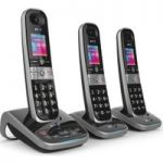 BT 8610 Cordless Phone with Answering Machine – Triple Handsets