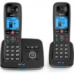 BT 6610 Cordless Phone with Answering Machine – Twin Handsets