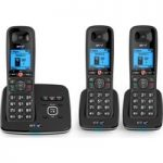 BT 6610 Cordless Phone with Answering Machine – Triple Handsets