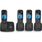 BT 6610 Cordless Phone with Answering Machine – Quad Handsets