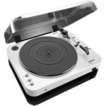LENCO L-85 Turntable – USB, White, White