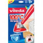 VILEDA 100°C Hot Spray and Steam Microfibre Refill Pads