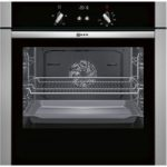 NEFF B44S32N5GB Slide & Hide Electric Oven – Stainless Steel, Stainless Steel