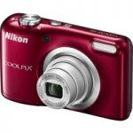NIKON COOLPIX A10 Compact Camera – Red, Red