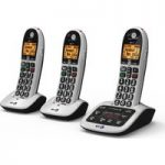 BT 4600 Cordless Phone with Answering Machine – Triple Handsets