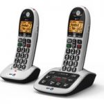 BT 4600 Cordless Phone with Answering Machine – Twin Handsets