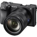 SONY a6300 Compact System Camera with 16-50 mm f/3.5-5.6 Wide-angle Zoom Lens – Black, Black