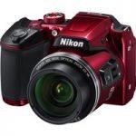 NIKON COOLPIX B500 Bridge Camera – Red, Red