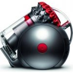 DYSON Big Ball Total Clean Cylinder Bagless Vacuum Cleaner – Red & Iron, Red