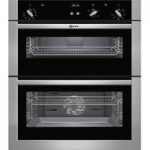 NEFF U17S32N5GB Built-under Double Oven – Stainless Steel, Stainless Steel