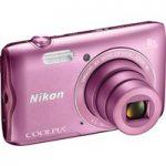 NIKON COOLPIX A300 Compact Camera – Pink, Pink
