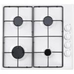 ESSENTIALS CGHOBW16 Gas Hob – White, White