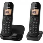 PANASONIC KX-TGC412EB Cordless Phone – Twin Handsets