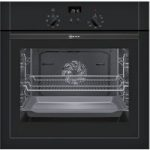 NEFF B14M42S5GB Electric Oven – Black, Black