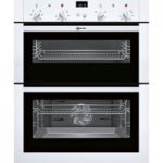NEFF U17M42W5GB Electric Built-under Double Oven – White, White
