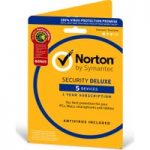 NORTON Norton Security Deluxe & Norton Utilities – 5 Devices