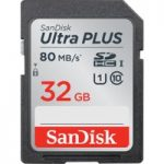 SANDISK Ultra Plus Class 10 SD Memory Card – 32 GB