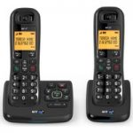 BT XD56 Cordless Phone with Answering Machine – Twin Handsets