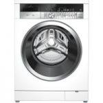 GRUNDIG ProDose GWN59650CW Washing Machine – White, White