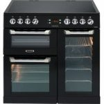 LEISURE Cusinemaster CS90C530K Electric Ceramic Range Cooker – Black, Black