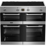 LEISURE Cuisinemaster CS100D510X Electric Induction Range Cooker – Stainless Steel, Stainless Steel