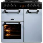 LEISURE Cookmaster 90 Dual Fuel Range Cooker – Blue, Blue