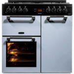 LEISURE Cookmaster 90 Dual Fuel Range Cooker – Blue, Blue