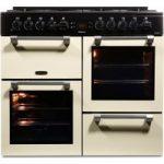 LEISURE Cookmaster CK100F232C Dual Fuel Range Cooker – Cream, Cream