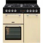 LEISURE Cookmaster CK90F232C Dual Fuel Range Cooker – Cream, Cream