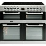 LEISURE Cuisinemaster CS100C510X 100 cm Electric Range Cooker – Stainless Steel, Stainless Steel