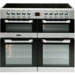 LEISURE Cuisinemaster CS100C510X 100 cm Electric Range Cooker – Stainless Steel, Stainless Steel