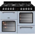 LEISURE Cookmaster CK100F232B Dual Fuel Range Cooker – Blue, Blue