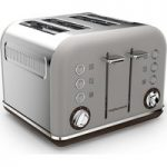 MORPHY RICHARDS Special Edition Accents 242102 4-Slice Toaster – Pebble