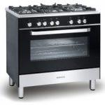 KENWOOD CK305-1 Dual Fuel Range Cooker – Black, Black