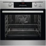 AEG Steambake BP500452DM Electric Oven – Stainless Steel, Stainless Steel