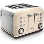 MORPHY RICHARDS Accents 242101 4-Slice Toaster – Sand, Sand