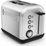MORPHY RICHARDS Brushed Accents 2220006 2-slice Toaster, Stainless Steel