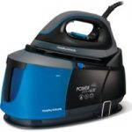 MORPHY RICHARDS Power Steam Elite 332002 Steam Generator Iron – Black & Blue, Black