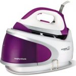 MORPHY RICHARDS Power Steam Elite 330018 Steam Generator Iron – Plum & White, Plum