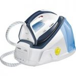 BOSCH Easy Comfort TDS6010GB Steam Generator Iron – White & Blue, White