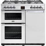 BELLING Gourmet 90G Professional Gas Range Cooker – Stainless Steel, Stainless Steel