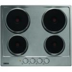 ZANUSSI ZEE6940FXA Electric Solid Plate Hob – Stainless Steel, Stainless Steel