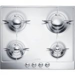SMEG P64ES Gas Hob – Stainless Steel, Stainless Steel